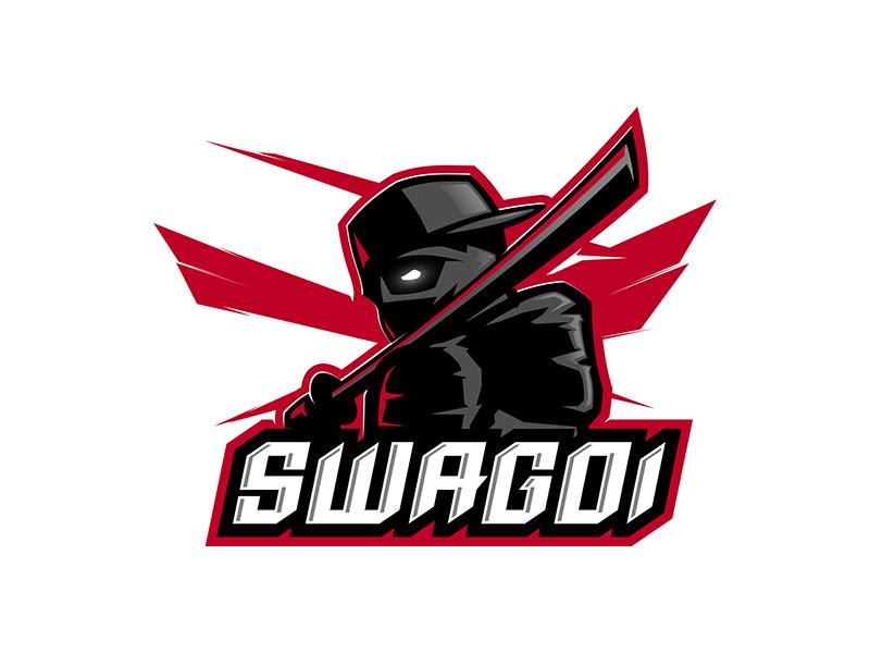 Swagoi swag ninja sugoi ronin killer katana japan japanese esport esports team team logo