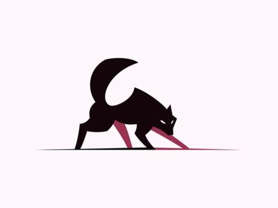 Wolf logo wolf