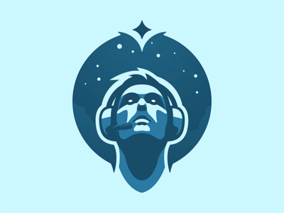 The Esports Dream headphones dreams constellation space cosmos stars player headset esports esport gaming gamer dreamer dream