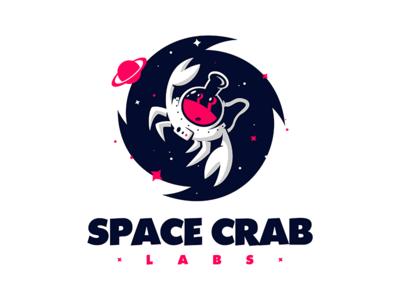 Space Crab Labs studio gaming cosmonaut astronaut stars planet cosmos lab labs crab space