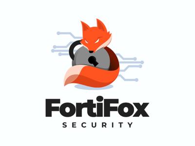 FortiFox padlock lock fox security secure cyber