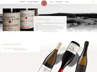 Moulin à l'Or, webdesign site website webdeisgn