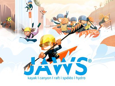 Jaws Company website developement graphism webdesign website