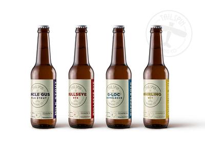Beer Packaging beer design american vintage airplane branding americana brewery beer packaging