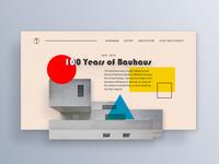 Bauhaus Landing Page #003