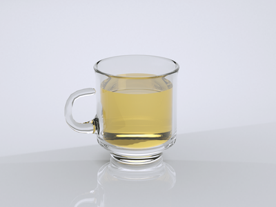 A Cup of Tea | Cinema 4D Daily Practice 03