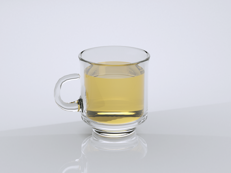 A Cup of Tea | Cinema 4D Daily Practice 03 03 daily practice 3d rendering octane cinema4d 3d rendering gradient design daily challange