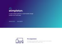 Stimpleton dribbble