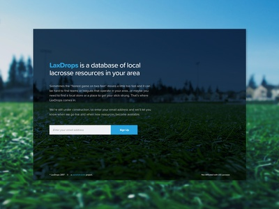 Lax Resource Site proxima web ui landing local resource lacrosse