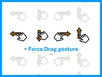 Gestures  dribbble 1 2
