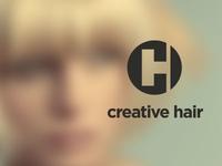 creative hair logo