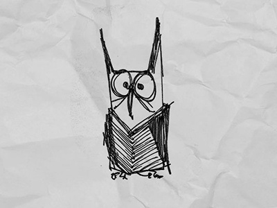 Owl illustration sketch lineart character owl