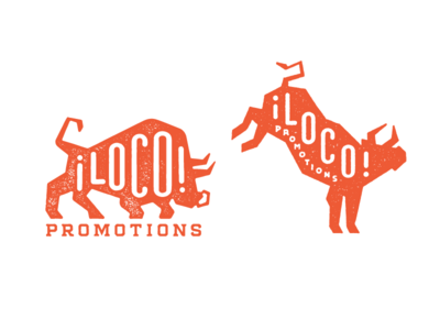 Loco Promotions WIP mcwhorter seth design silhouette graphic bull badge mark logo