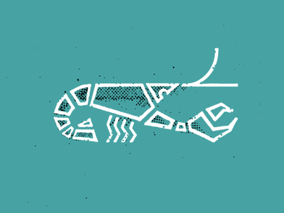 Lobsta mcwhorter seth illustration badge logo design drawing icon lobster