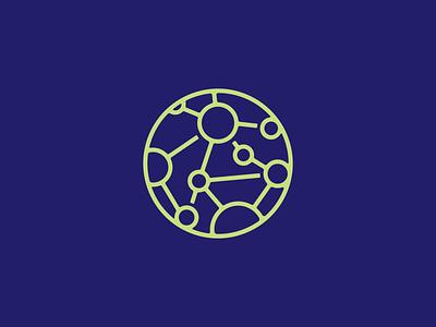 Network mark vector typography graphic illustration logo design seth mcwhorter