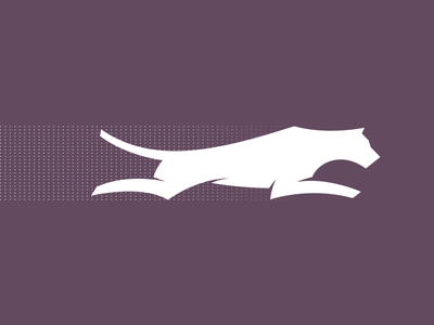 Fast Cat illustration mcwhorter seth logo animal cheetah tiger panther running cat