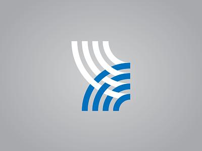 WIP - Fiber Logo vector design clean fiber woven weave mark graphic logo seth mcwhorter
