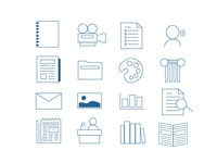 Icons for Library