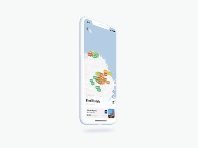 Tour — Hotel Search Map phone app activity price range price tag price list color price map marker pin maps lodging trip planner trip travel hotels hotel map mobile