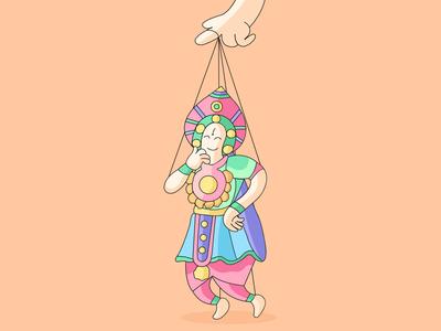 InternationalDanceDay animation design studio vector illustration banglore branding agency