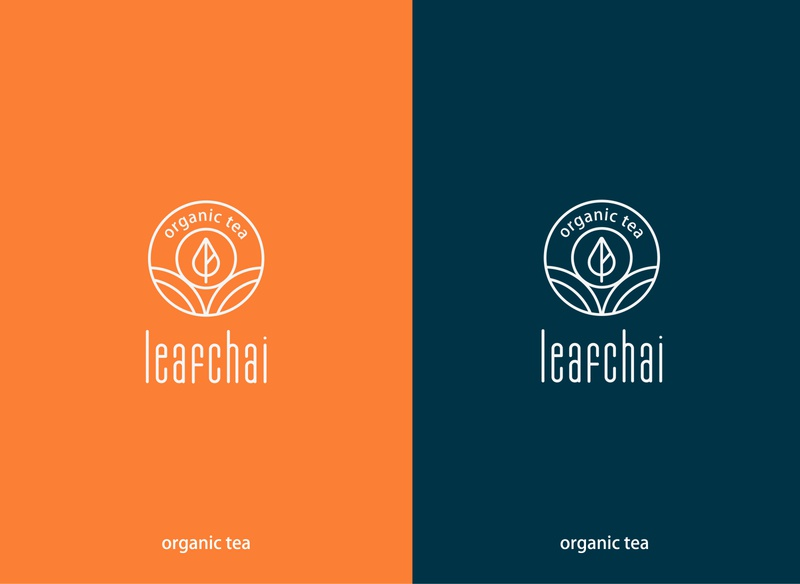 leafchai animation branding design typography banglore branding agency