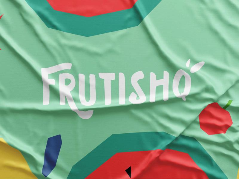 Frutishq branding design illustration design studio branding agency