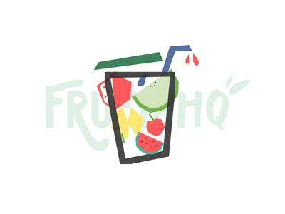 Frutishq typography design design studio branding agency
