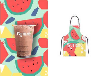 Frutishq typography illustration branding design studio branding agency
