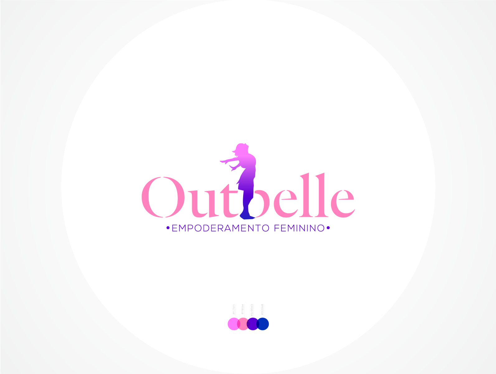 Outbelle Logo Design By Diff Art Logo Brand Identity Designer On Dribbble
