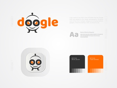 Doogle Online  store logo bot logo concept logo logo trends 2020 logo designer logo design logo branding dribbble creative corporate brand identity conceptual logo app logo design branding