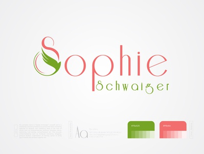 Sophie Schwaiger logo typography logo concept logo logo trends 2020 logo designer logo branding graphic design gradient logo creative corporate brand identity conceptual logo app logo design branding logo design