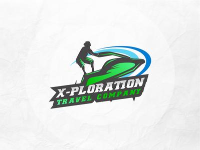X ploration  logo creative logo maker l o g o custom logo speed board logo concept logo graphic design lo go brand identity logo maker conceptual logo