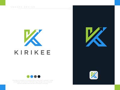 K modern logo logodesign lo go graphic design conceptual logo logo maker creative logo app platform symbol logo blue tech logo symbol k monogram k wordmark branding logo design brand identity modern logo