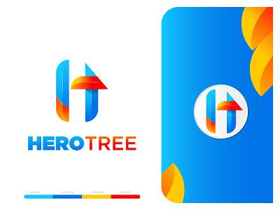 HT logo Concept concept logo letter mark design alphabet logo designer tech colorful creative icon modern logo brand app concept logomodern modern mark branding simple logomark logo design