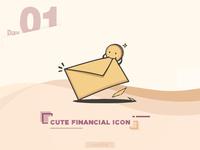 Cute Financial Icon