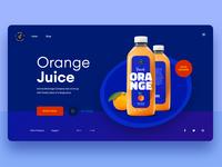 Orange Juice Webdesign - Version 2
