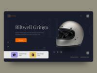 Helmet Shop Web Design