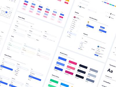 Eva Web - UI Library ui library ui elements library guide visual language guideline tool styleguide ux ui