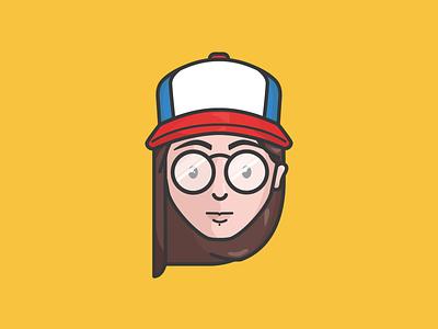 Me, Myself, I. design minimalism icon artwork flatdesign vector flatvector digitaldesign illustrator design illustration illustrator icon selfbranding