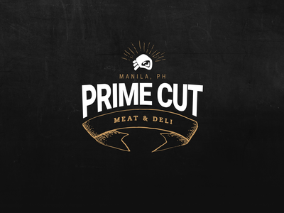 Prime Cut Meat & Deli store ecommerce shop yummy food layout web branding beef meat