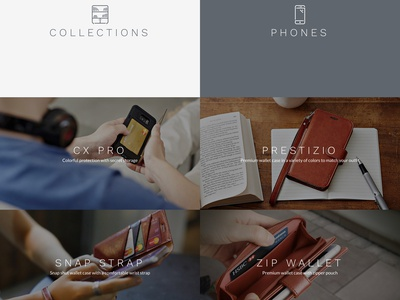 TORU Redesigned phone ecommerce store shop sell product layout design web