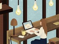 Work Mood Illustration
