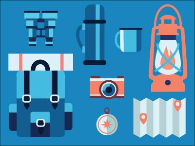 Adventure Icon Set adobe illustrator concept illustration icon design design graphic design icon illustration vector illustration illustrator infographics adventure icons illustration