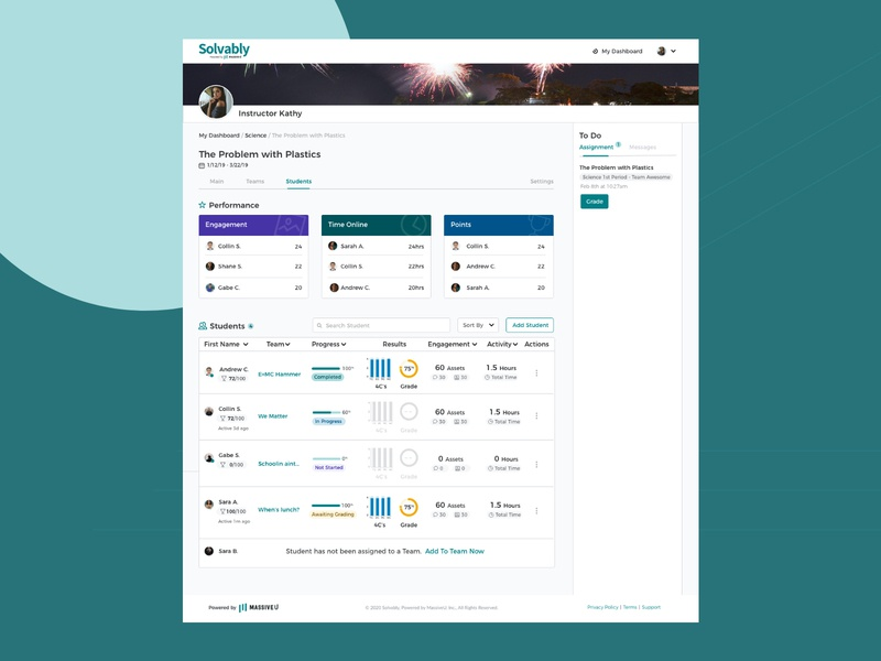Detailed Instructor Dashboard ux design uidesign ux user experience ux ui design user center design ui design user interface