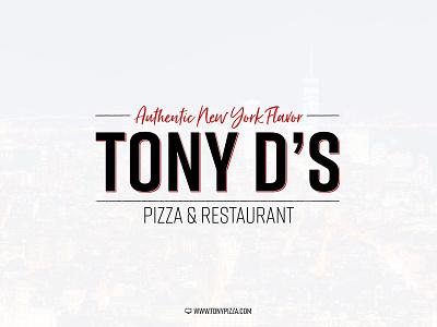 Tony D's Logo design vector logo design logo