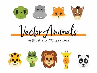 Vector Baby Animals