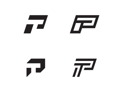 P And T lettermark exploration
