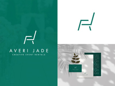 Averi Jade logo design