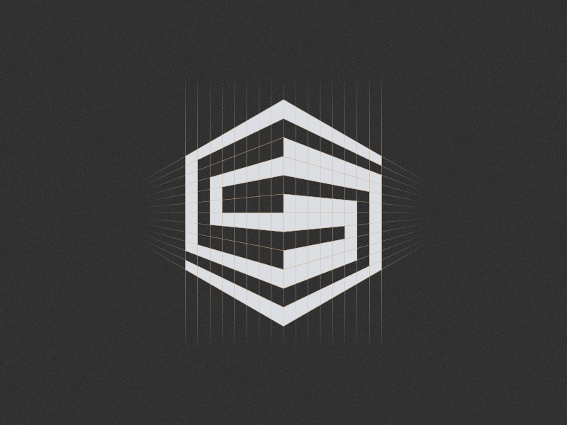 S and building logo grid