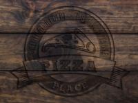 Wood 'n Food logo mockup
